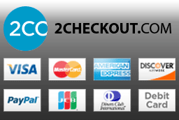 D5 Creation uses 2CHECKOUT.COM for payment processing