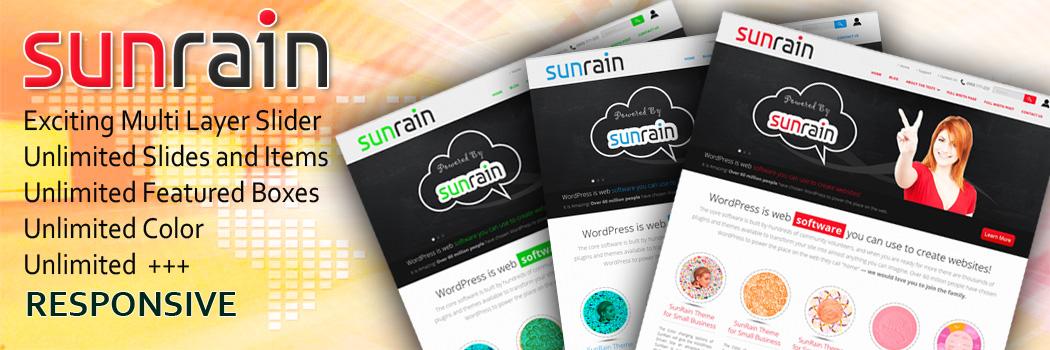 SunRain Responsive Theme