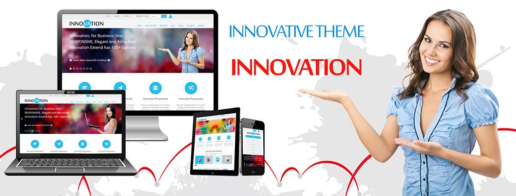 Innovation Premium WordPress Theme