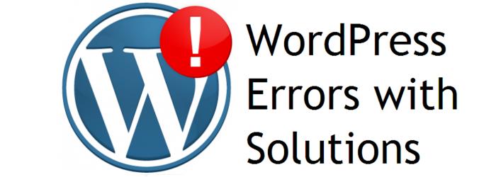 Troubleshooting Errors Found in WordPress Theme