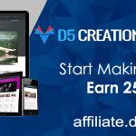 D5 Creation Affiliate Program