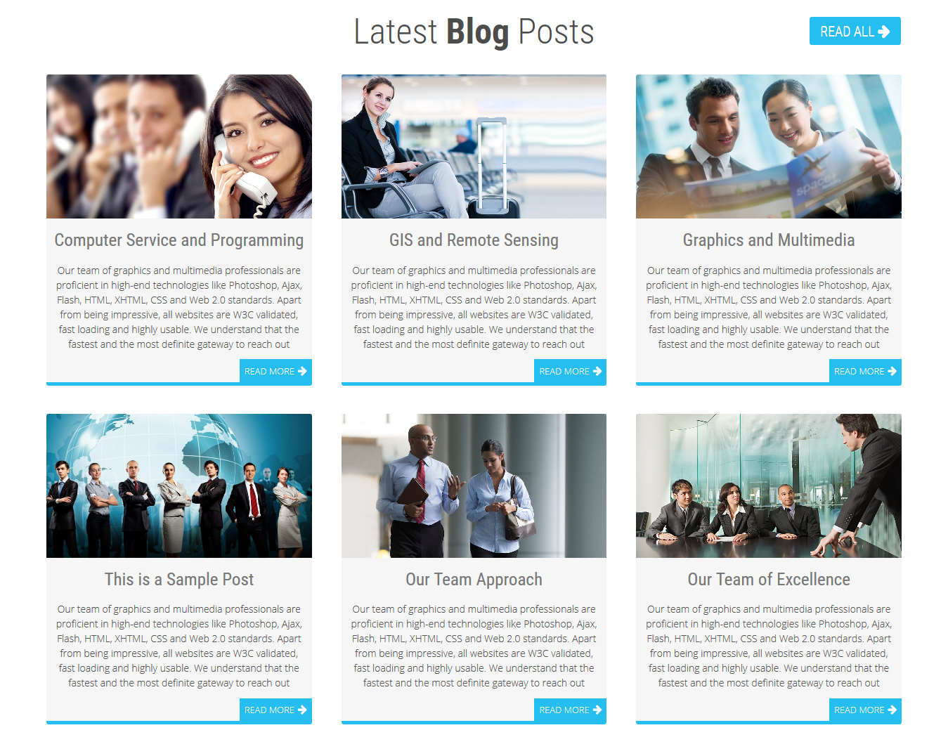 Blog Posts in WordPress