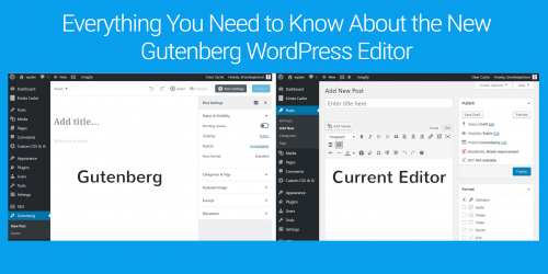 New Gutenberg WordPress Editor