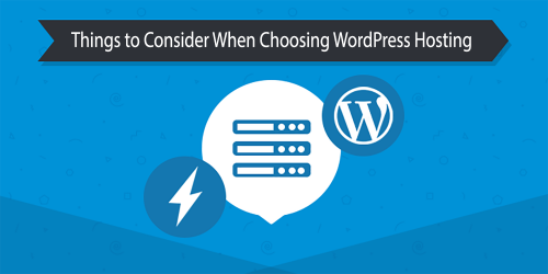 Things to Consider When Choosing WordPress Hosting Provider