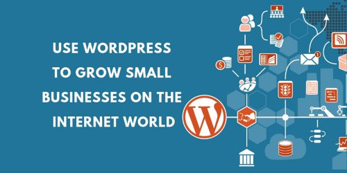 Use WordPress to Grow Small Businesses On the Internet World