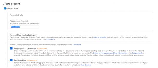 Join Google Analytics