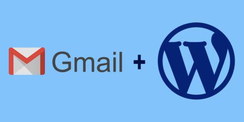 Gmail SMTP from WordPress