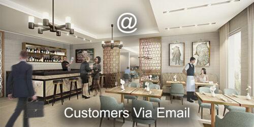 Customers Via Email